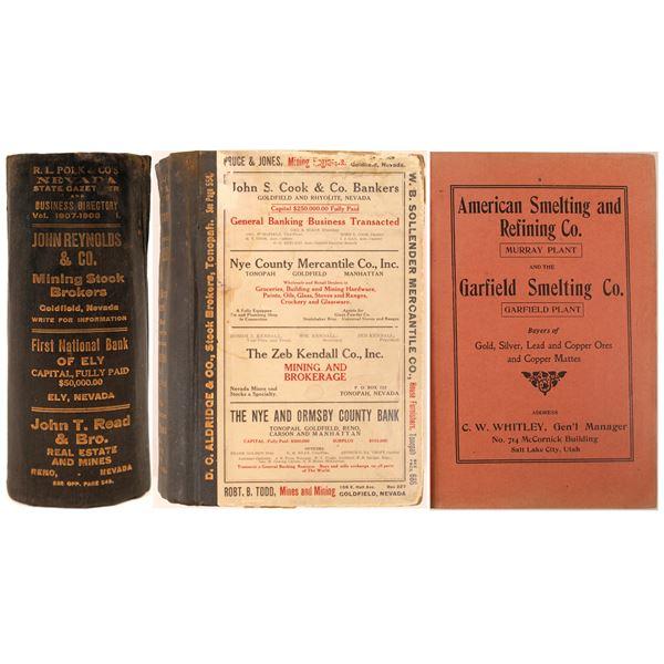 1907-1908 Nevada Directory by Polk  [130060]