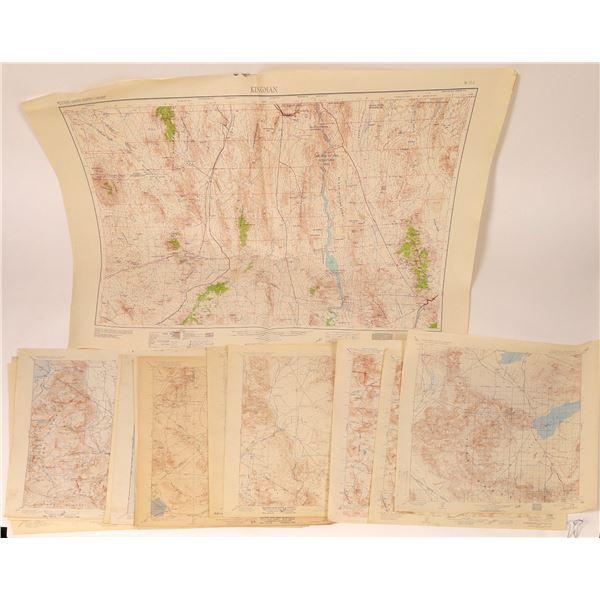 Early California/Nevada Desert Survey Maps (17)  [110173]