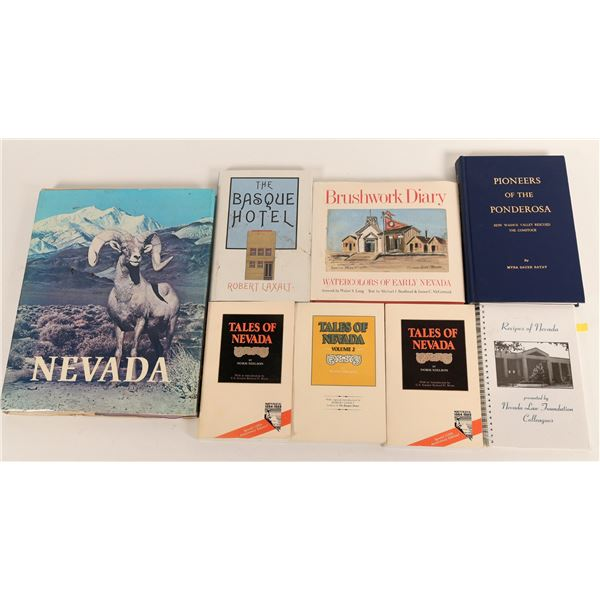 Group of Nevada Historical References (8)  [125222]