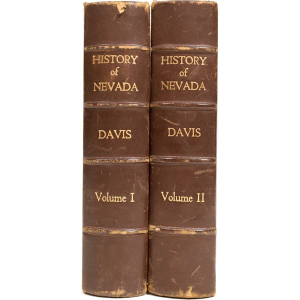 History of Nevada by Davis – First Edition  [130218]