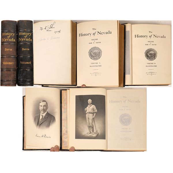 History of Nevada Volumes I & II First Editions  [110176]