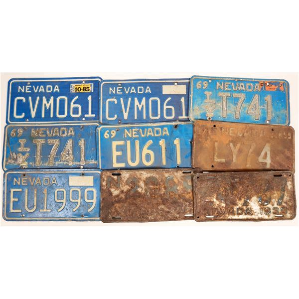 Nevada License Plates Group  [132458]