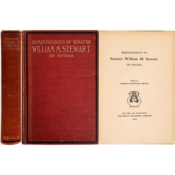 Reminiscences of Senator William M. Stewart  [132459]