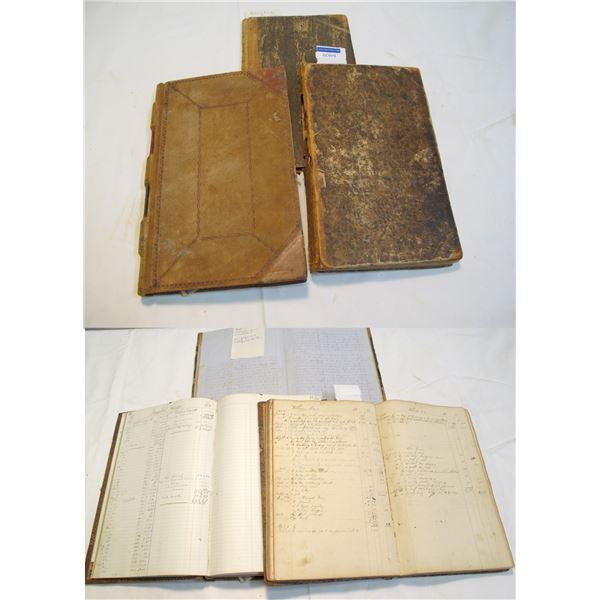 Pittsfield Ledgers (3), 1835-c1860  [84839]