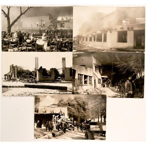 Fire at the Don Fernando Hotel, 5 photos  [109207]