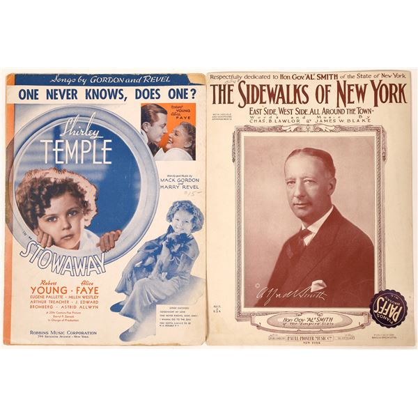 Shirley Temple & Al Smith Sheet Music  [121695]