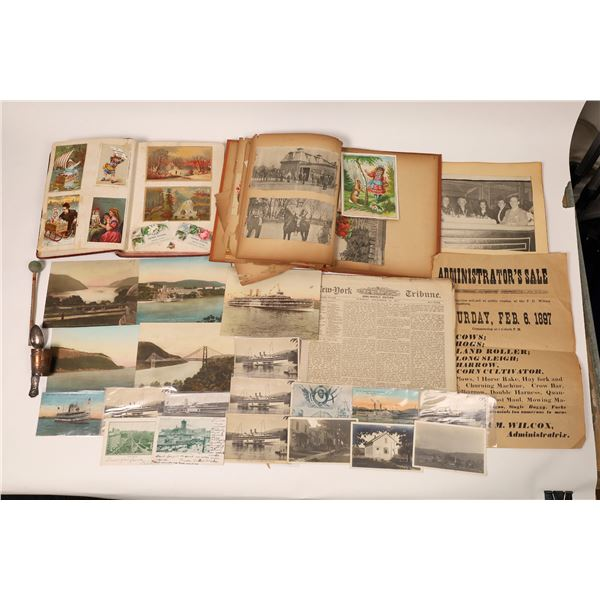 Miscellaneous New York Ephemera Collection  [131791]