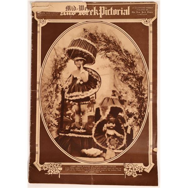 New York Times Mid-Week Pictorial Sept. 7, 1922 Baseball  [129733]