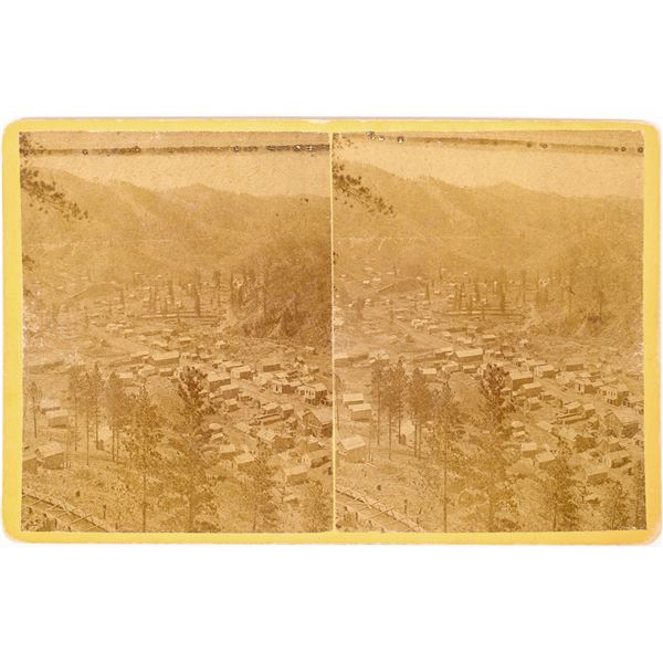Stereo View of Deadwood  [131624]
