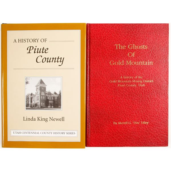 Utah History Books (2)  [59776]