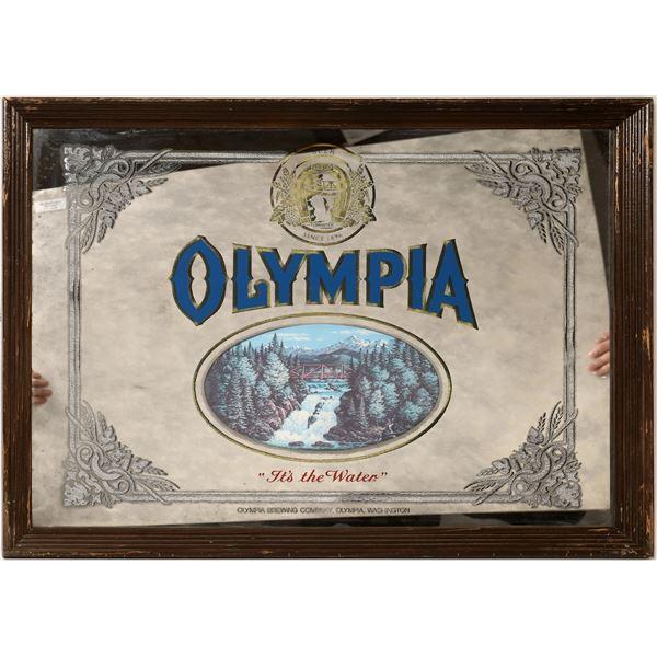 Olympia Beer Advertising Mirror (2)  [131881]