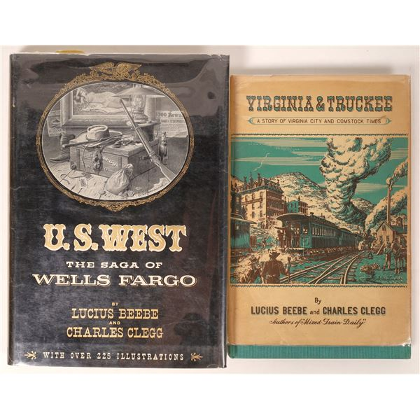 Beebe & Clegg Books on V&T and Wells Fargo  [121701]