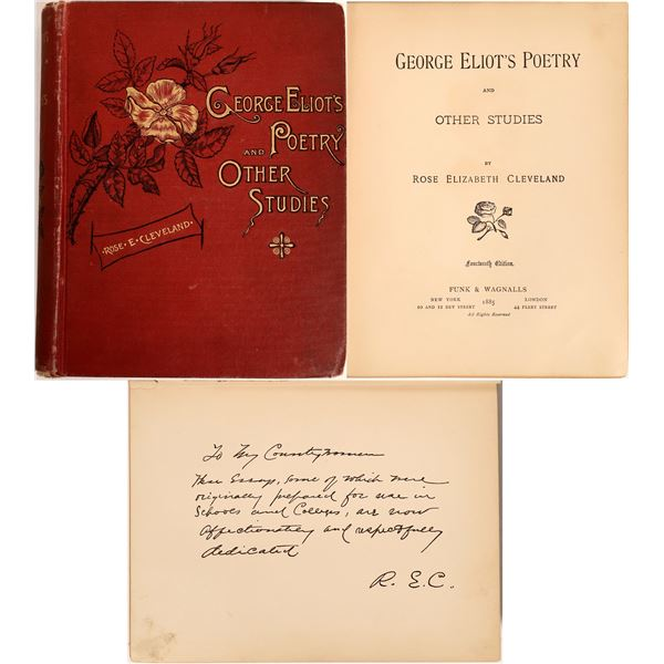 George Eliot's Poetry and Other Studies  [132456]