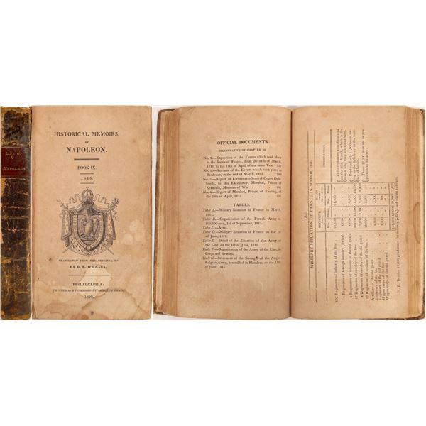 Historical Memoirs Of Napoleon Book IX  [132821]