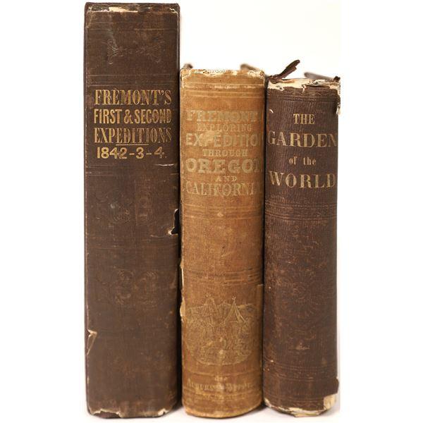 John C. Fremont Books  [130076]