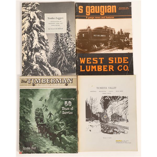 Logging & Lumber Publications #2 (4)  [131888]