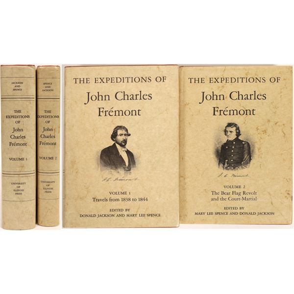 The Expeditions of John Charles Fremont Vol I-II  [132824]