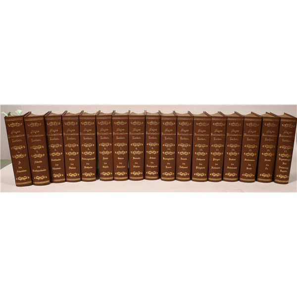 Meyers Conversational Lexicon -- 1890 German Encyclopedia, rebound  [126650]