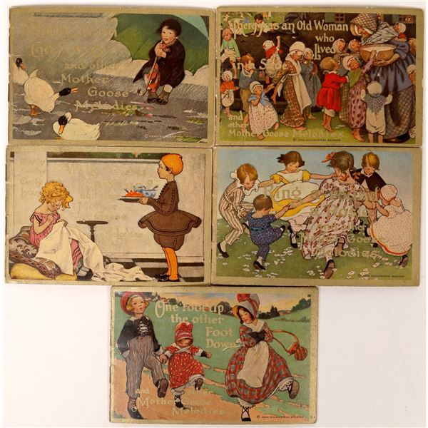 Colgate 1913 Nursery Rhyme Booklets  [121696]