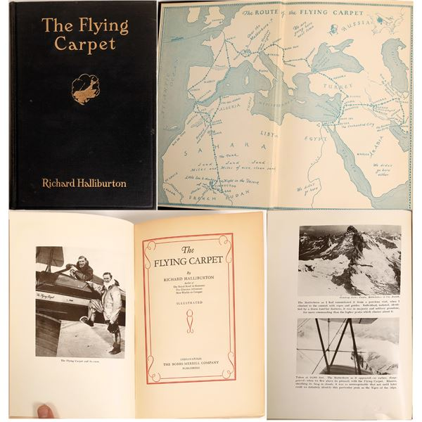 The Flying Carpet a Book by Richard Halliburton  [132933]