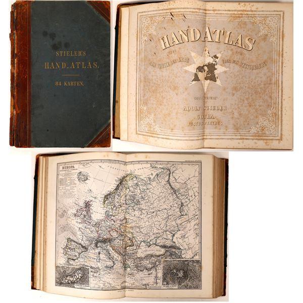 Stieler's Hand Atlas 5th Ed. 1872  [129903]