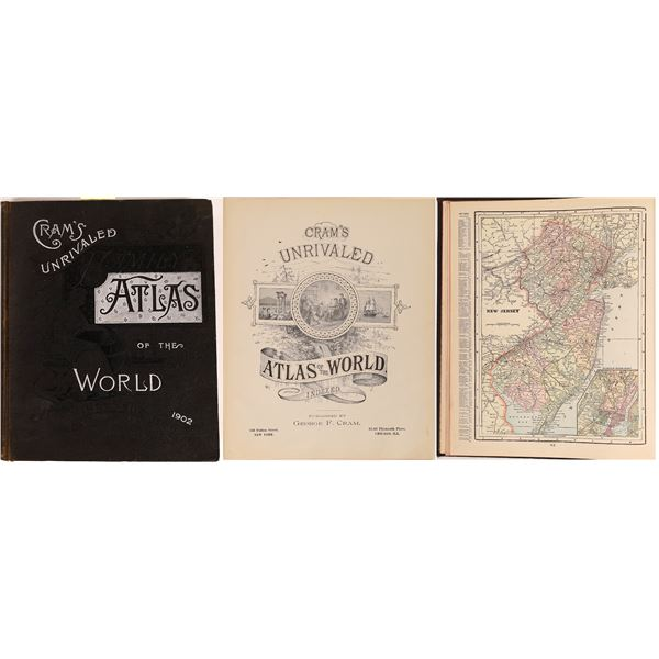 Cram's Unrivaled Atlas of the World  [131661]