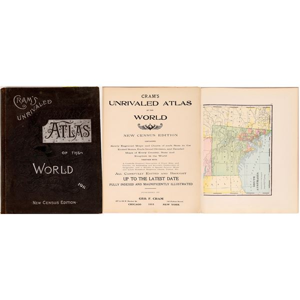 Cram's Unrivaled Atlas of the World  [131663]