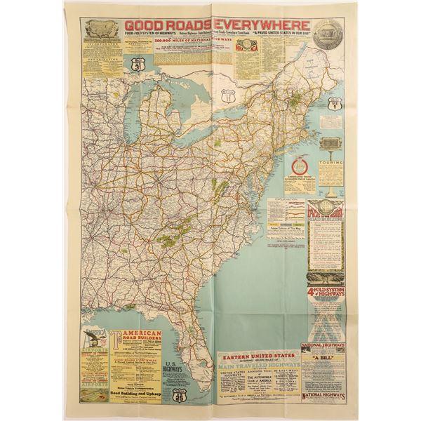 National Highway Association Map  [132310]