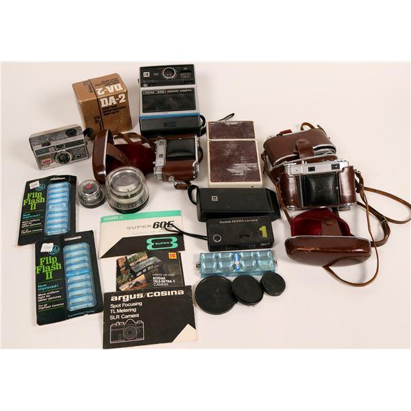 Vintage Kodak Retina 11c and 111c Cameras and accessories  [135573]