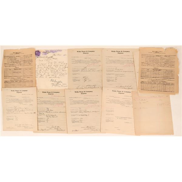 Wells Fargo Letter and Letter Size Document Collection (11)  [135413]