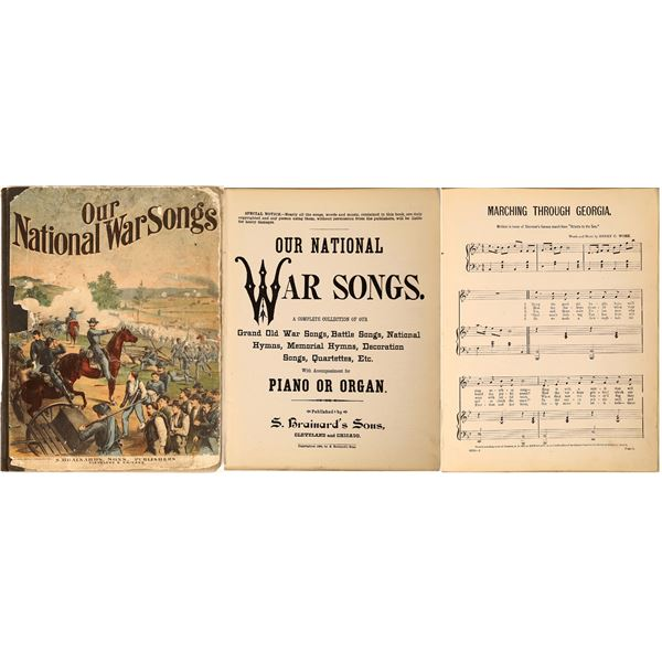 """""""Our National War Songs""""  [130079]"""