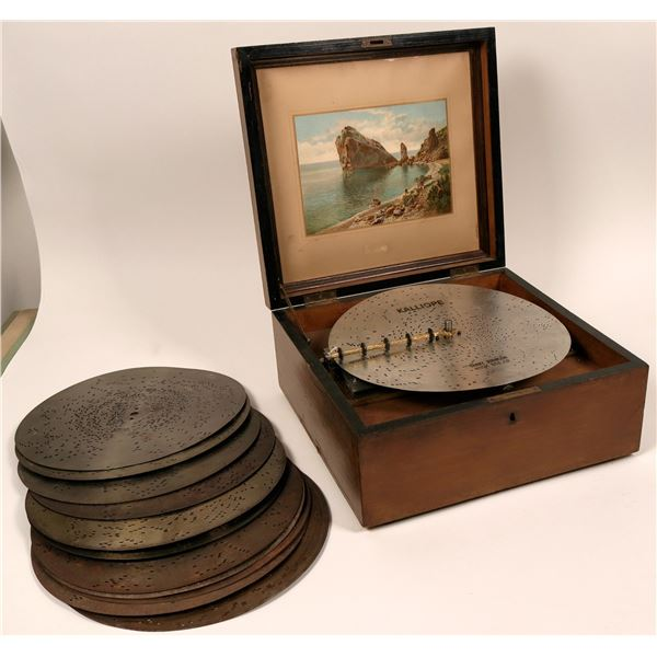 Kalliope music box 13 inch model  [116742]