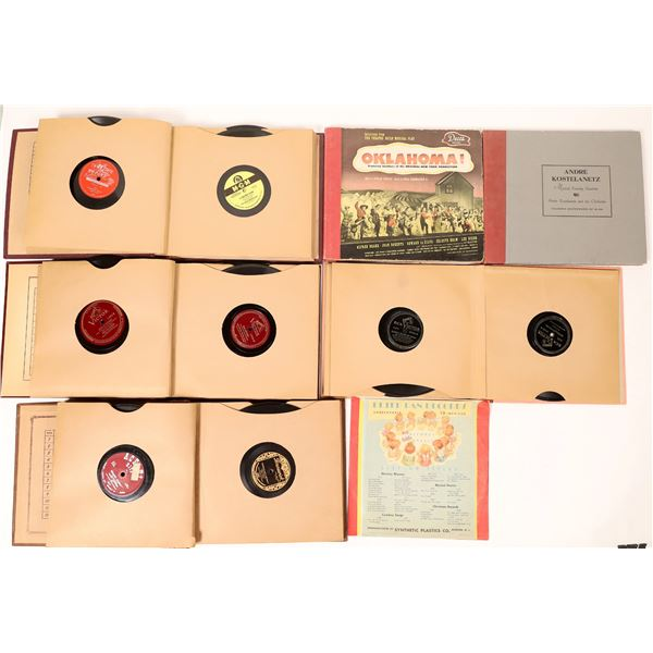 Lot of 78rpm Records Includes Elvis Presley Classic (48)  [131975]