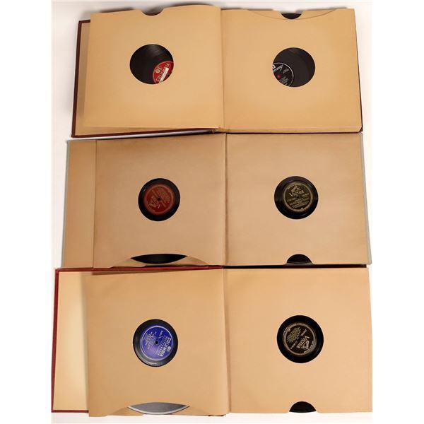 78 RPM Records Include Enrico Caruso (25)  [131976]