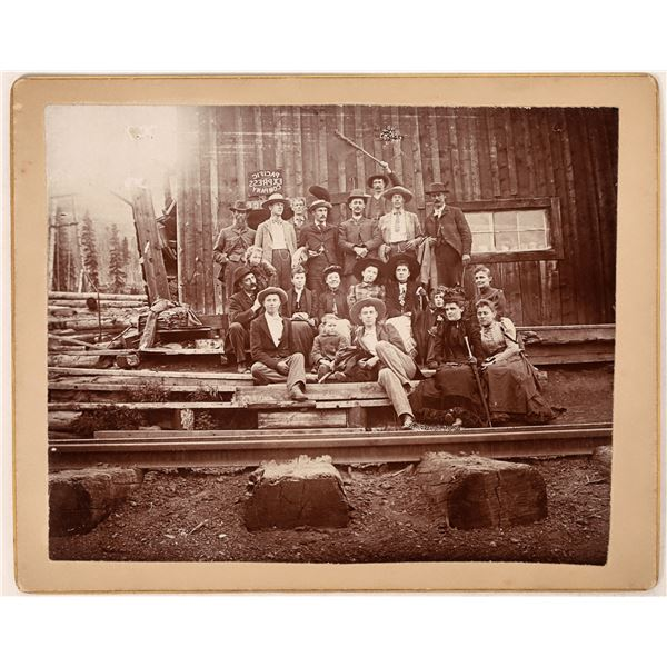 Pacific Express Office Family Photograph  [122514]