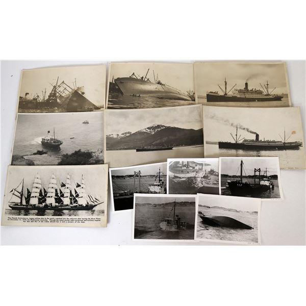Ship Wreck Photographs  [124322]