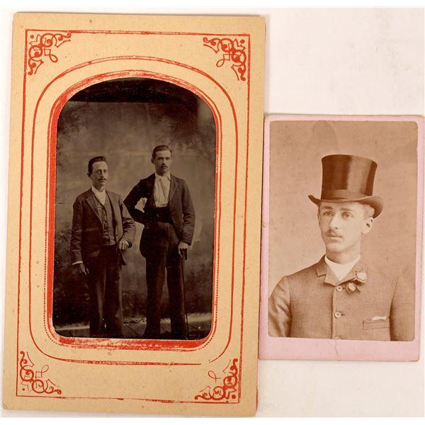 Two Rare Photo Types  [129928]