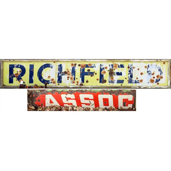 Richfield Oil Company Sign Plus One  [131707]