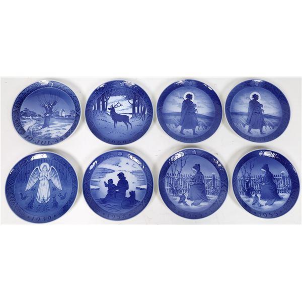 Royal Copenhagen Souvenir Plate Collection (8)  [115379]