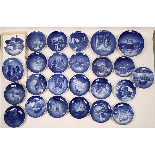 Bing & Grondahl Souvenir Plate Collection (25)  [135606]