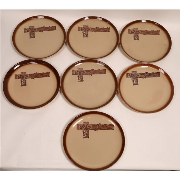 Giant Serving Plates, The Sportsmans Chefs Western Motif (7)  [132986]