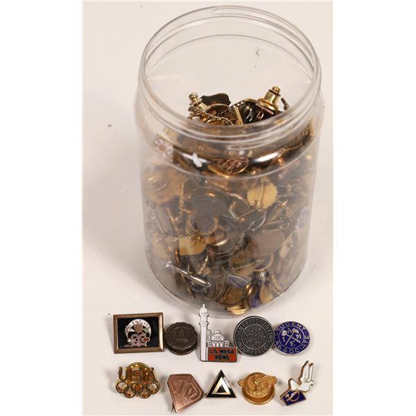 Lapel Pins, ~325 Pieces  [132867]