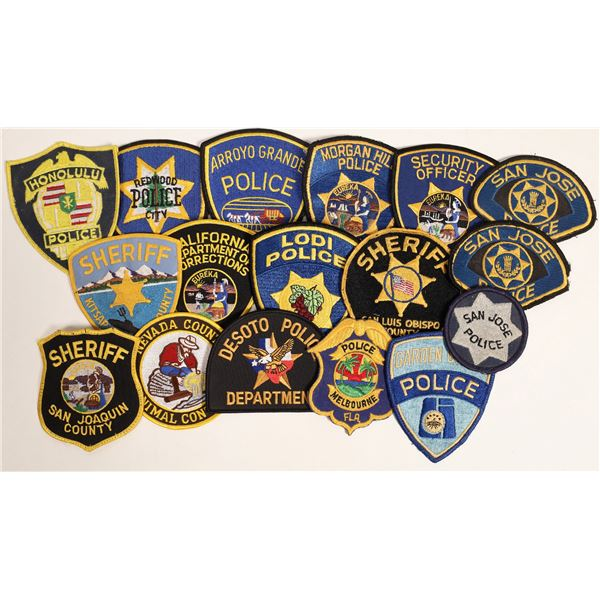 Police Shoulder Patches  [132846]