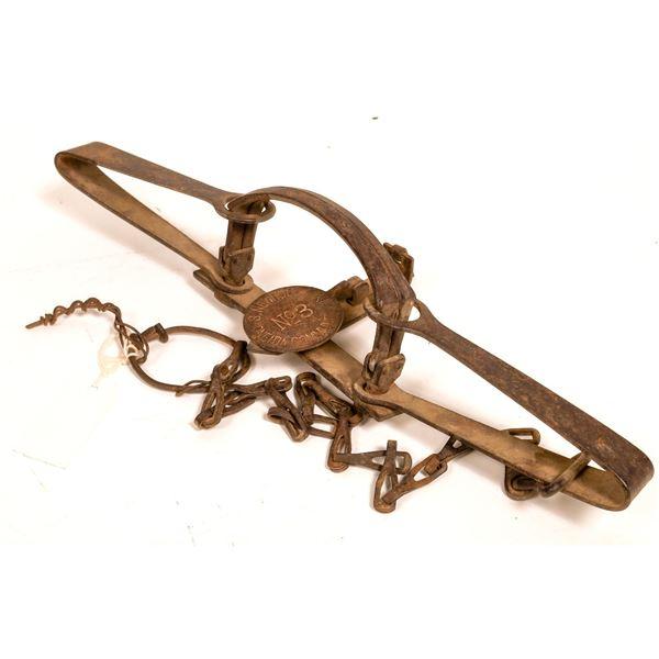 S. Newhouse Oneida Company #3 Animal Trap  [132505]