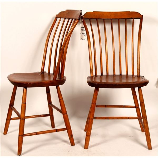 Antique Wooden Chairs - 2  [109349]