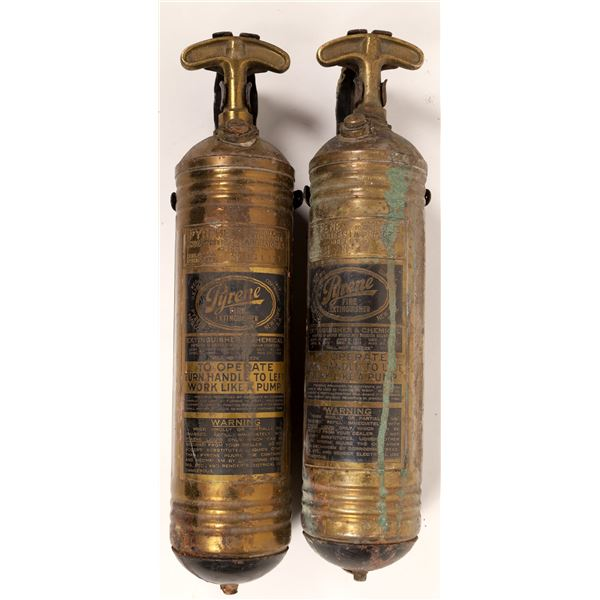 Pyrene Fire Extinguishers, Hand-Pumped - Pair  [132993]