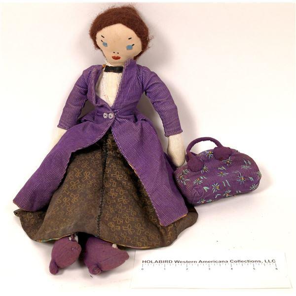 Mary Poppins Folk Art Doll  [121715]