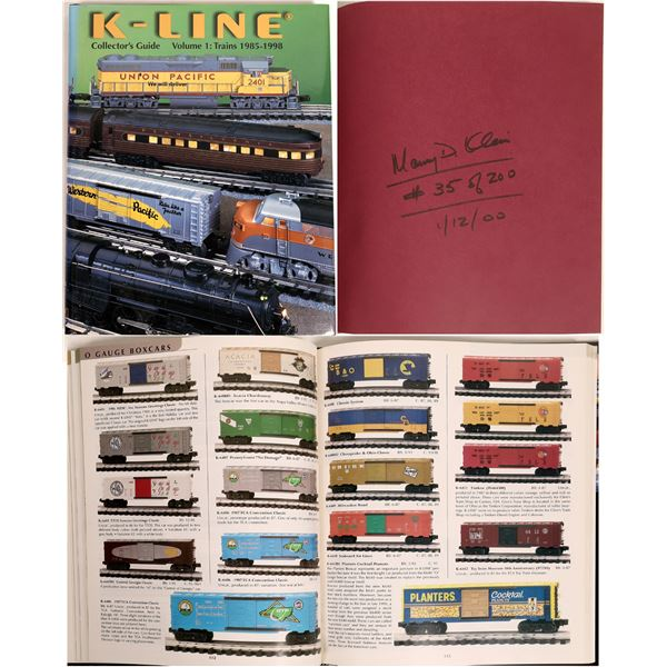 K-LINE Collector's Guide, Vol. 1: Trains 1985-1998  [133601]