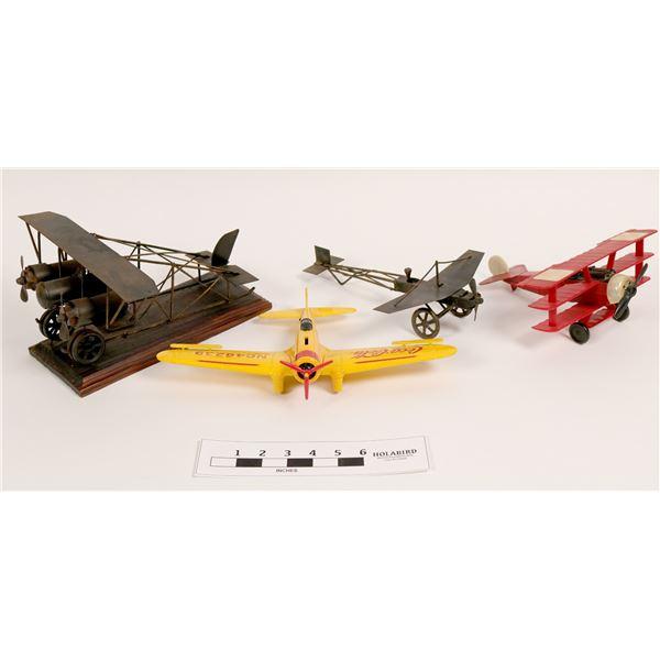 Model Airplane Lot – Antique!  [112346]