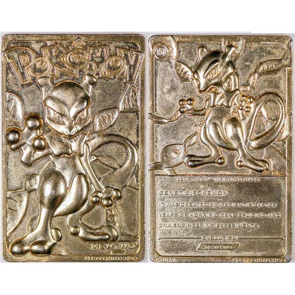 Gold Mew Two Pokemon Card  [132465]